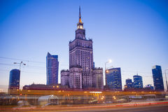 Warsaw – the capital of Poland. Royalty Free Stock Images