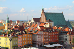 Warsaw. Poland. Old Town - UNESCO World Heritage Site Royalty Free Stock Photography