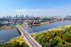Warsaw. Royalty Free Stock Photos