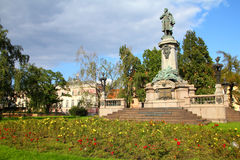 Warsaw - Adam Mickiewicz Royalty Free Stock Photography