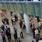 Warsaw Airport Stock Image