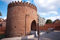 Warsaw Barbican, Poland Royalty Free Stock Photos