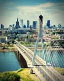Warsaw. Royalty Free Stock Images