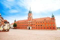 Warsaw, capital city of Poland Royalty Free Stock Photo