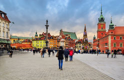 Warsaw, is the capital of Poland Stock Image