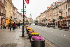 Warsaw, capital of Poland Stock Photos