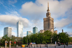 Warsaw. The capital of the state in Europe środkowek Royalty Free Stock Photos
