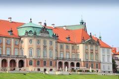 Warsaw Castle Stock Photos