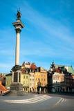 Warsaw - Castle Square stock photos