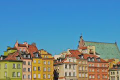 Warsaw, center Royalty Free Stock Photos