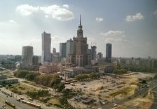 Warsaw Royalty Free Stock Image