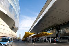Warsaw - central Bus Station  (Poland) Stock Images