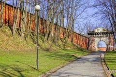 Warsaw Citadel Royalty Free Stock Image