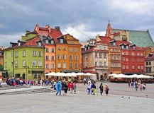 Warsaw city centre, Poland Royalty Free Stock Photography