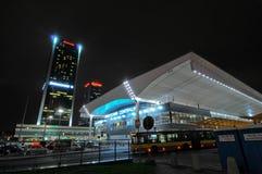 Free Warsaw City Night Life Stock Image - 39306721