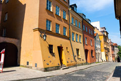 Warsaw City Old Town Stock Photo