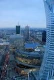Warsaw City, Poland Stock Photo