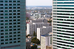 WARSAW CITY stock photography