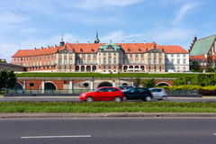 Warsaw City, Royal Castle stock photography