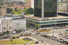 Warsaw city view Royalty Free Stock Photo
