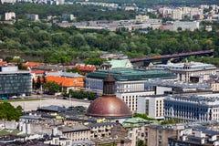 Warsaw Cityscape Royalty Free Stock Photo
