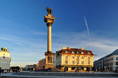 Warsaw column Royalty Free Stock Photography