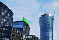 Warsaw. Comercisal biulding, biura, warszawa, warsaw spire stock images