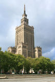 Warsaw - Communist Icon. Palace of Culture and Science built by the Soviet Union in Warsaw stock photos