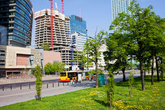 Warsaw Downtown Royalty Free Stock Images