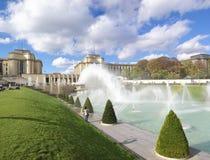 Warsaw fountain paris Stock Photos