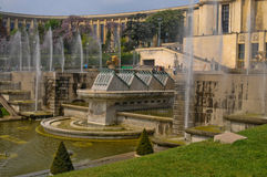 Warsaw fountain Stock Image
