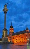 Warsaw gammal Town Royaltyfri Fotografi