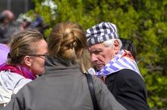 Holocaust survivor Stock Images