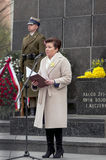 Warsaw Ghetto Uprising Anniversary Royalty Free Stock Images