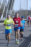 Warsaw Half Marathon 2016 Stock Photos