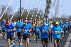 Warsaw Half Marathon 2016 Stock Image