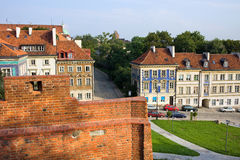 Warsaw Historic Architecture Stock Photo