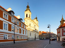 Warsaw - Holy Cross Church, Poland Royalty Free Stock Image
