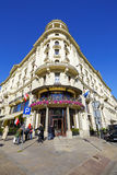 Warsaw, Hotel Bristol Stock Image