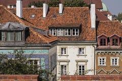 Warsaw houses Stock Image