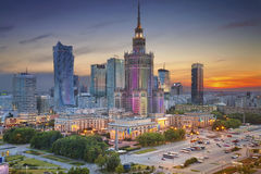 Warsaw. Royalty Free Stock Image