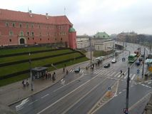 Warsaw. King palace. royalty free stock photos
