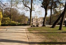 warsaw Lazienki Królewski park zdjęcia royalty free