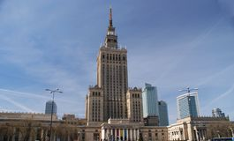 Warsaw life Royalty Free Stock Photography