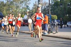 Warsaw Marathon Royalty Free Stock Photo