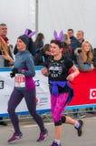 Warsaw Marathon 2016 Stock Photo