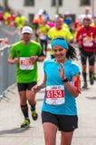 Warsaw Marathon 2016 Royalty Free Stock Photos