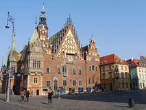 Wroclaw market place Poland Stock Images