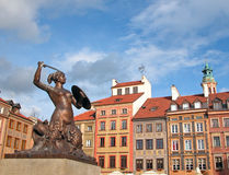 Warsaw Mermaid Royalty Free Stock Image