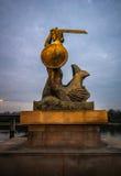 Warsaw Mermaid Royalty Free Stock Image